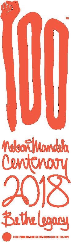 "Nelson Mandela Centenary ""Be The Legacy"" Memorabilia Frame."
